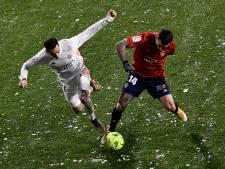 Real glijdt in winters Pamplona uit over Osasuna