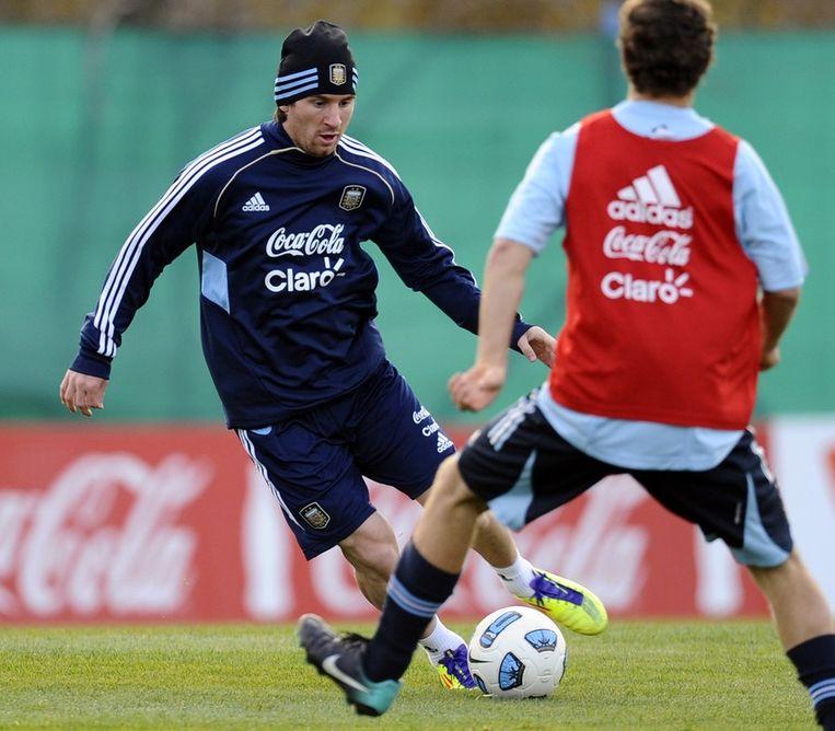 Lionel Messi: 43,8 miljoen dollar. Beeld afp