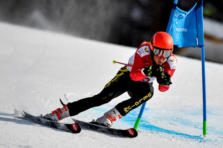 Sam Maes skiede in de Olympische Winterspelen vorig jaar al naar een knappe 32ste plaats.