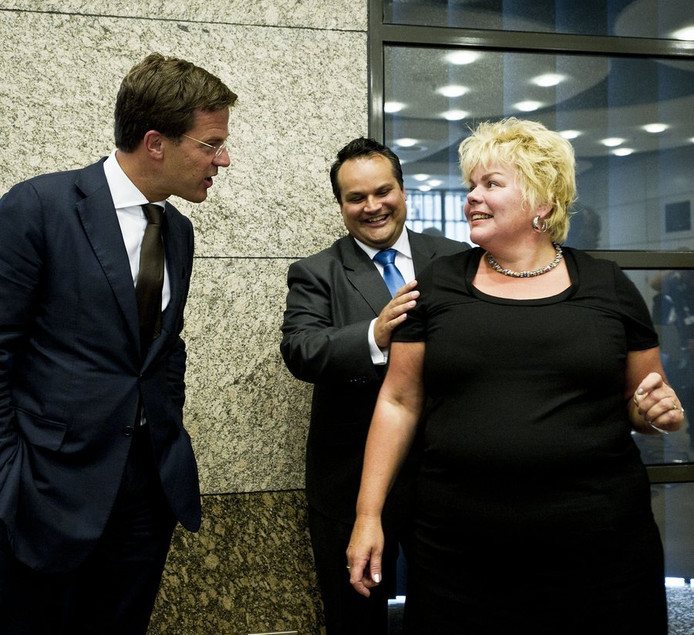 Ineke van Gent als Kamerlid van GroenLinks.