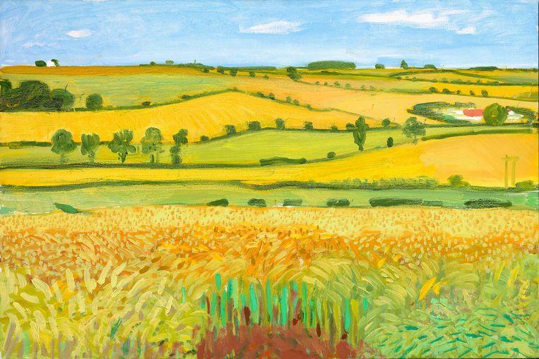 Woldgate Vista, 27 July 2005. Beeld David Hockney