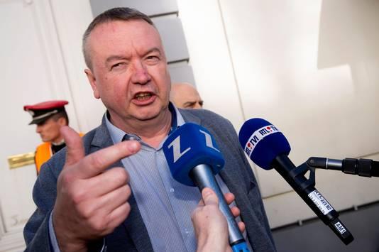 Robert Vertenueil, président de la FGTB.