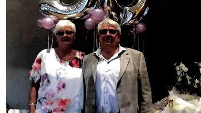 Robert en Francine vieren gouden bruiloft