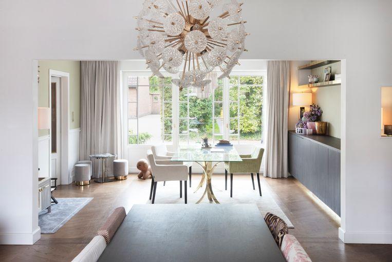 De woonruimte van Valerie ademt design en vintage.