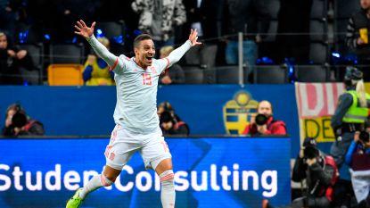 EURO 2020. Rodrigo schiet Spanje in extra tijd naar EK - Finland zet grote stap richting allereerste deelname