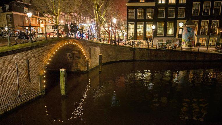 Afgelopen maand kwamen in Amsterdam zeker twee mensen om het leven tijdens het zwemmen Beeld Rink Hof