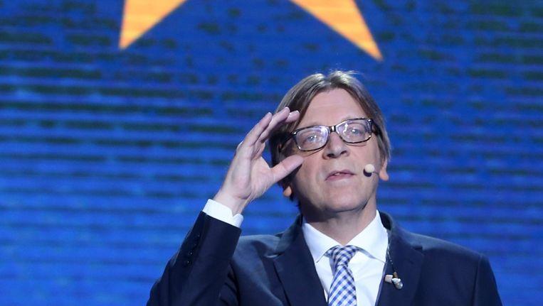 In zijn zoektocht naar lichtende voorbeelden belandt Verhofstadt vooral in de Verenigde Staten. Beeld epa