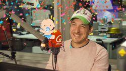 Andy Peelman wordt papa!