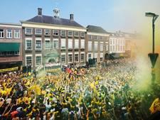 Code geel-zwart: ontlading op de Grote Markt
