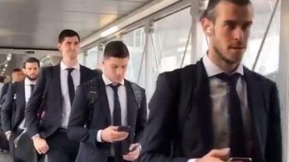Real Madrid huurt volledig hotel af,  drummen voor een glimp van 'Real B'