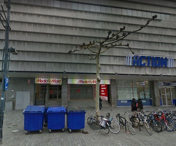 Hier komt de nieuwe 'stadswinkel' van de Albert Heijn.