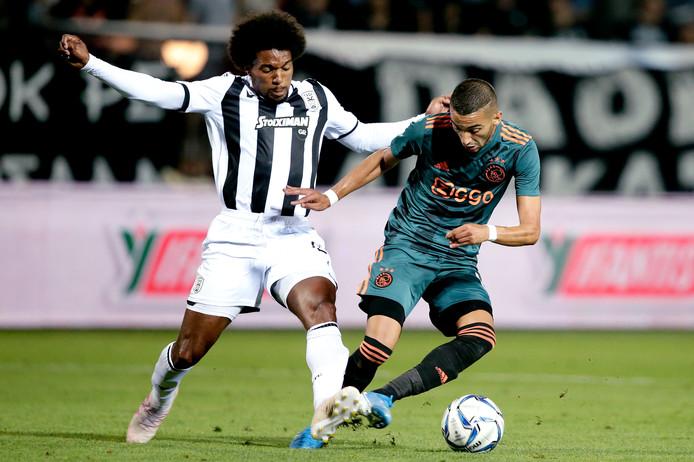 Diego Biseswar (ex-Feyenoord) gaf een assist.