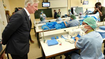 UZ Brussel sluit eigen naaiatelier voor mondmaskers