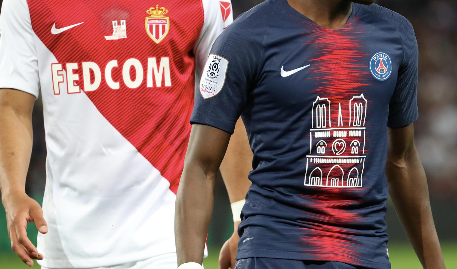 Het shirt van PSG vanavond!