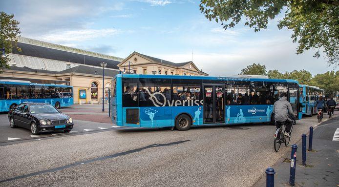 Station Zwolle, foto ter illustratie.