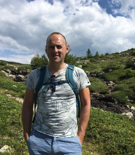 Geen kerst voor Alain uit Ommen, maar wandelen voor zijn zieke schoonzus