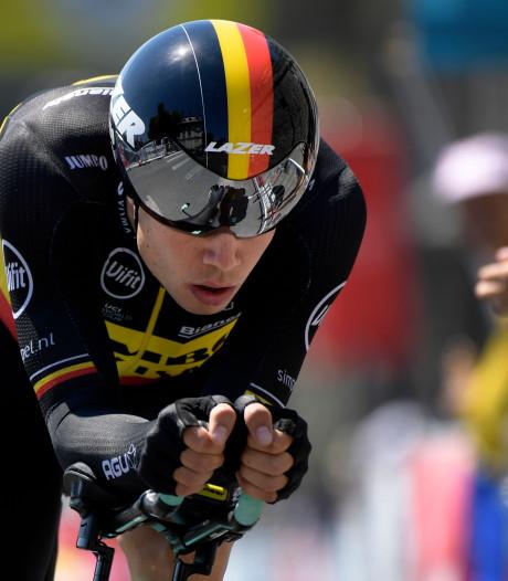 Van Aert ongeduldig: 'Niet van plan twee maanden niet te fietsen'