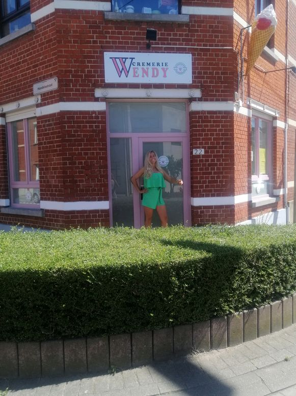 Wendy Michiels opent op 20 augustus Cremerie Wendy in Zaventem.