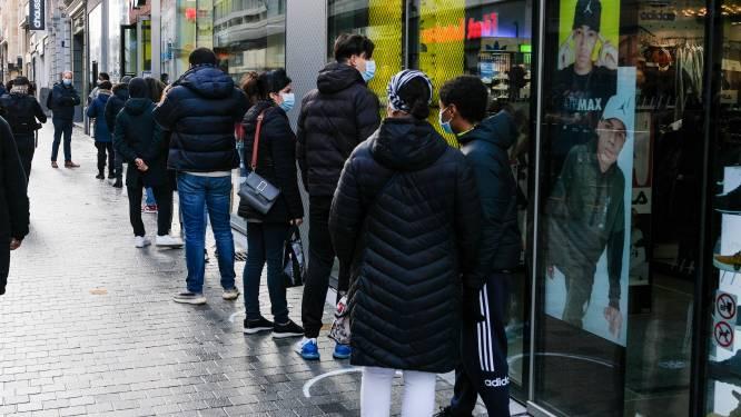 Toegang tot Nieuwstraat al eerste keer gedeeltelijk afgesloten