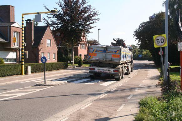 De Hoge Bokstraat in Sint-Niklaas.