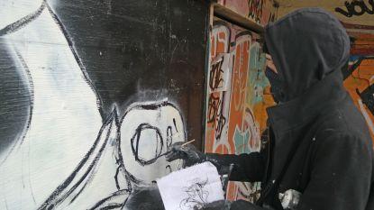 """VIDEO. Onbekende graffitikunstenaar achter 'Gentse schreeuwers' spreekt voor het eerst: """"Dit is pure expressie"""""""