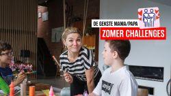 """Veel wc-rolletjes over? Evi Hanssen en haar zonen maken er een rollercoaster mee: """"Uren speelplezier!"""""""