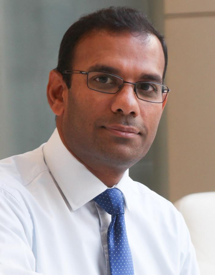 Vakis Ramany,  vice-president van het Franse energiebedrijf EDF en verantwoordelijk voor de nieuwe, internationale  nucleaire projecten van het bedrijf.