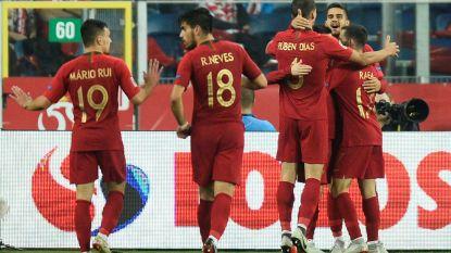 FT buitenland (12/10). Portugal heeft Cristiano niet nodig in Polen -Gewezen ploegmaat Vermaelen breekt neus van Turkse zanger