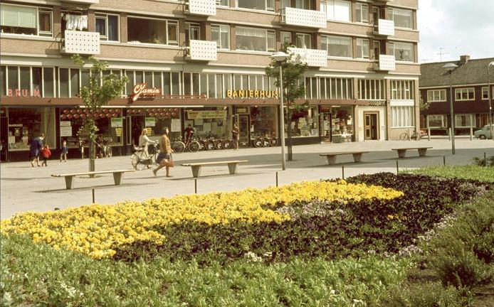 De Jamin op het Smaragdplein in 1965.