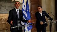 """Obama in Athene: """"Soberheid alleen schept geen welvaart"""""""
