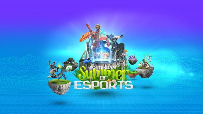 Summer of Esports is het zoveelste initiatief waar uit blijkt dat Rotterdam actief met gaming bezig blifjt.