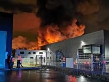 Pas de risque toxique après un important incendie industriel à Roulers