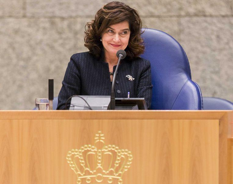 VVD-Kamerlid en voormalig Kamervoorzitter Van Miltenburg komt niet terug op de VVD-lijst. Beeld anp