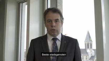 Burgemeester Jan Vermeulen deelt videoboodschap met coronamaatregelen