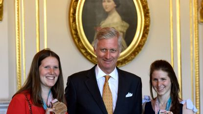 Koning Filip ontmoet baanbrekende paralympiërs
