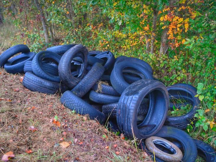 Tientallen banden gedumpt in Riethoven