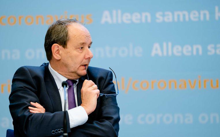 Staatssecretaris Hans Vijlbrief van financiën. Beeld ANP