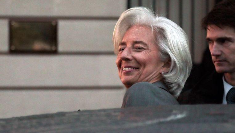 Christine Lagarde. Beeld afp