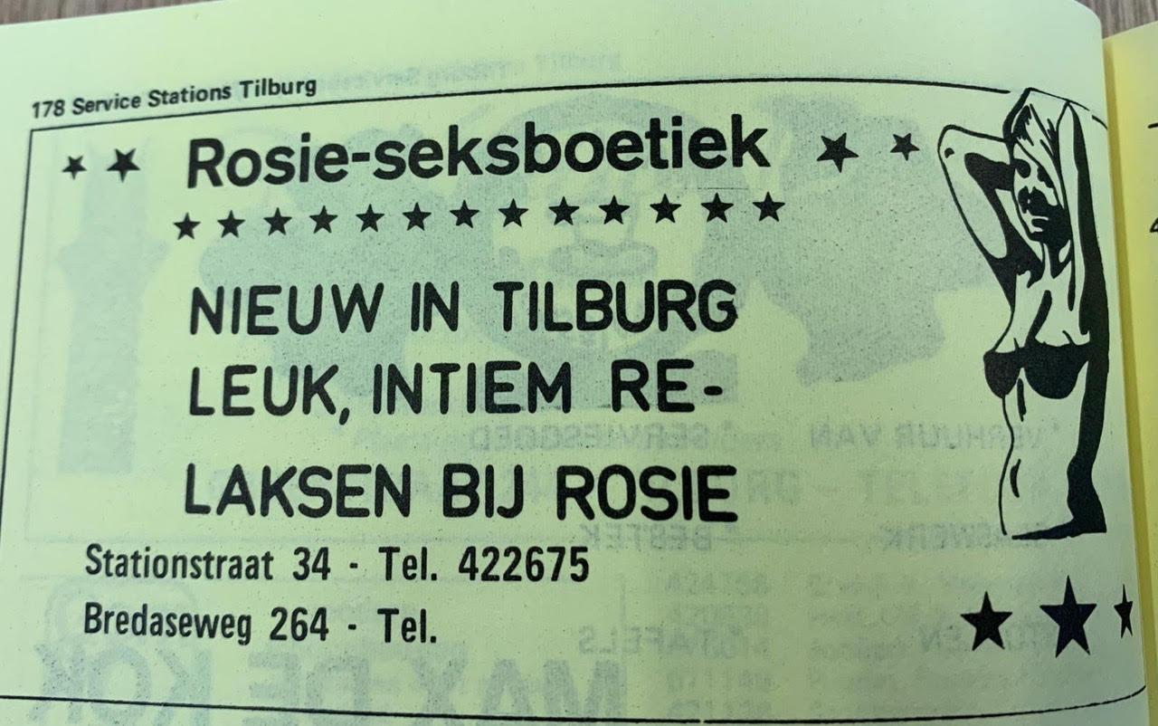 In de jaren '70 was het de Rosie-seksboetiek.