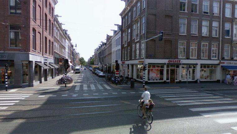 Massimo Dutti is gevestigd op de hoek van de Van Baerlestraat en de P.C. Hooftstraat waar voorheen Oilily zat. Foto Google Streetview Beeld