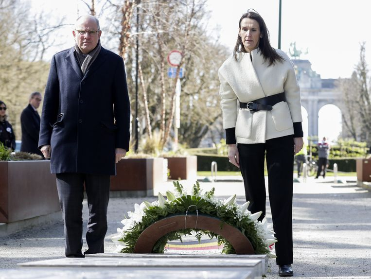 Premier Wilmès en Minister Koen Geens