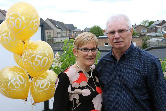 Fernand en Daniëlle zijn 50 jaar getrouwd.