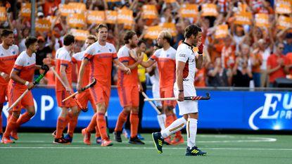 Opnieuw zilver! Red Lions laten zich de kaas van het brood eten in Nederland, Oranje wint het EK