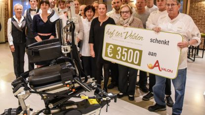 Hof ter Velden steunt Avalon en schenkt opbrengst jubileumviering