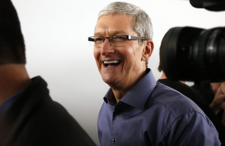 Apple CEO Tim Cook Beeld anp
