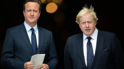 """Oud-premier Cameron hekelt koers Johnson: """"Tweede referendum kan niet worden uitgesloten"""""""