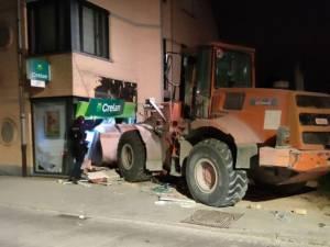 Une agence bancaire attaquée au bulldozer à Nieuwenrode