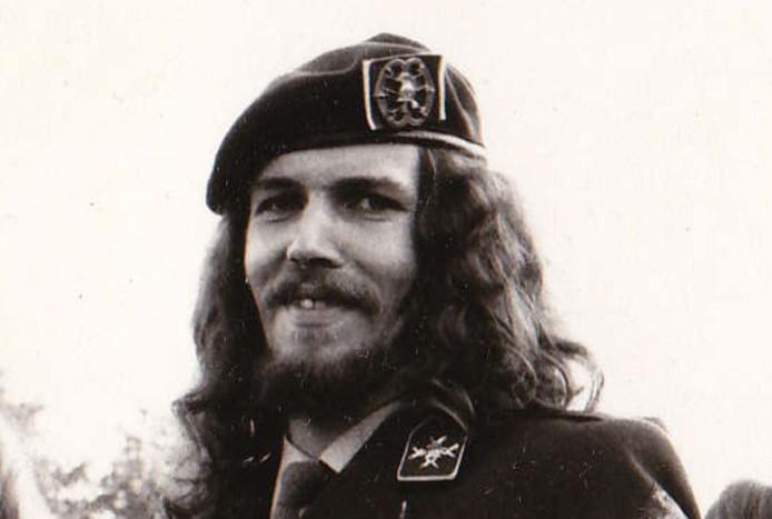 Marcel Rensen in 1981. Foto prive-archief Marcel Rensen