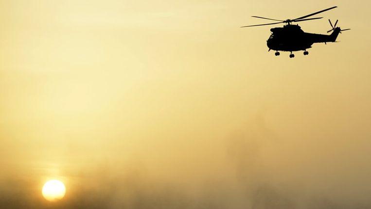 Een Franse helikopter in Mali. Beeld afp