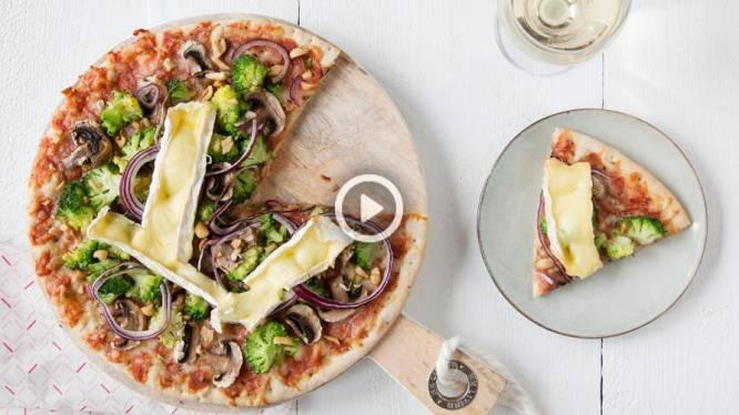 Fastfood: pimp je basispizza met broccoli en camembert